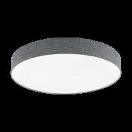 Stropní LED osvětlení s průměrem 76 cm, šedé ROMAO 97784