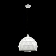 Závěsný lustr, bílý ROCCAFORTE 97855