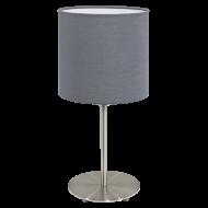 Pokojová lampička šedá PASTERI 31596