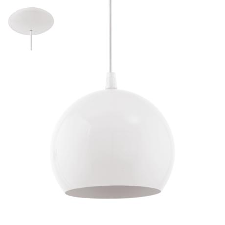 Stropní svítidlo závěsné bílé PETTO 1 94246