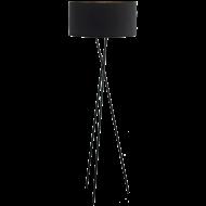 Pokojová lampa trojnožka černá FONDACHELLI 95541