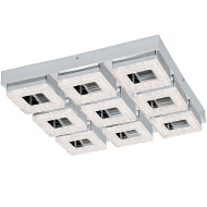 LED stropní osvětlení s křišťálem FRADELO 95658