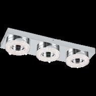 LED stropní osvětlení s křišťálem FRADELO 95663
