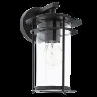 Venkovní nástěnné svítidlo, černé VALDEO 96239