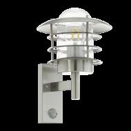 Venkovní nástěnná lampa s pohybovým čidlem MOUNA 96402