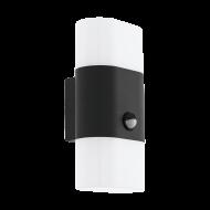 Venkovní nástěnné LED světlo s pohybovým senzorem - antracitové FAVRIA 1 97314