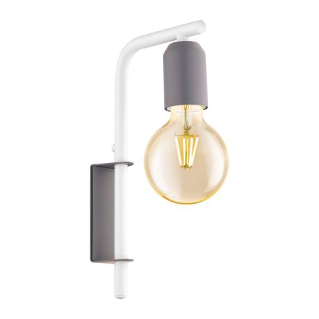 Nástěnné svítidlo, pastelově šedé ADRI-P 49115