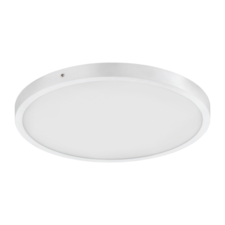 Kruhové stropní LED osvětlení, bílá/bílá FUEVA 1 97262