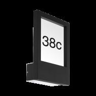 Nástěnné venkovní LED svítidlo MONTEROS 98144, černé