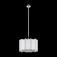 Lustr/svítidlo na lanku PINETA 98338, bílé
