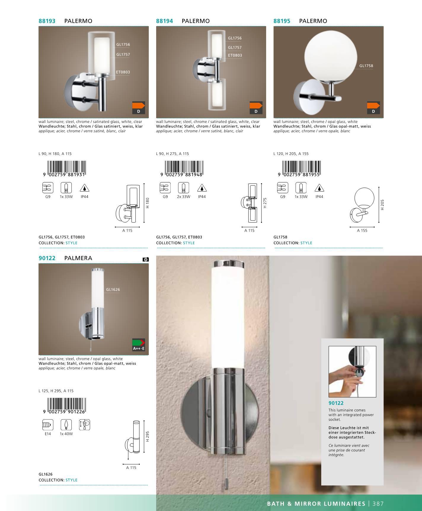 n st nn sv tlo stm vateln palermo eglo 88193. Black Bedroom Furniture Sets. Home Design Ideas