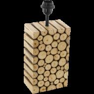 Stolní pokojová lampička ze dřeva RIBADEO 49833