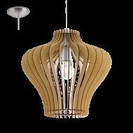 Závěsné stropní osvětlení dřevěná konstrukce COSSANO 2 95256