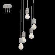 Závěsné osvětlení industriální SILVARES 95524