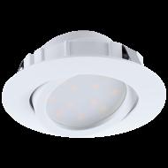 LED vestavná bodovka kruhová PINEDA 95847