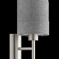 Nástěnná lampa s textilním stínítkem PASTERI 96373