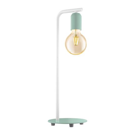 Stolní lampička v pastelově zeleném provedení ADRI-P 49119