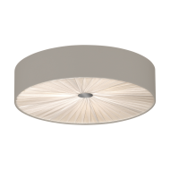 Stropní svítidlo FUNGINO 39443, kombinace taupe-bílá