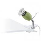 Lampička s klipem zelená BANNY