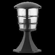 Venkovní lampa černá ALORIA
