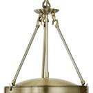 Závěsný lustr s řetízkovým závěsem SAVOY