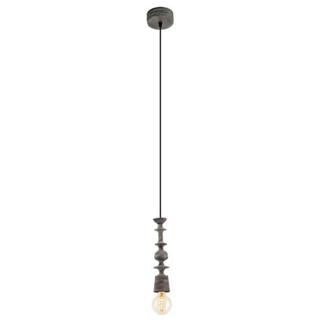 Závěsné osvětlení černá patina AVOLTRI 49375