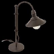Lampička s vypínačem rustikální STOCKBURY 49459