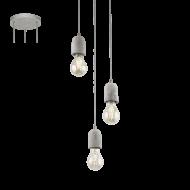 Závěsné osvětlení industriální SILVARES 95523