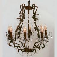 Stropní závěsný lustr WEST FENTON 49737