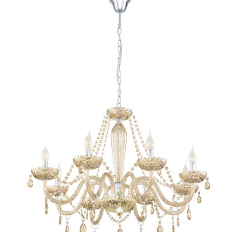 Závěsný lustr na řetězu BASILANO 39093