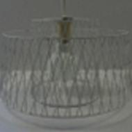 Závěsný LED lustr, bílý ALLERBY 49995