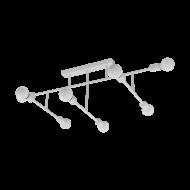 Lustr BELSIANA 98033, 8 x 40W - bílé provedení