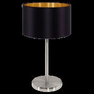 Pokojová lampička černá MASERLO 31627