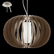 Závěsné osvětlení dřevěná kostra STELLATO 3 95593