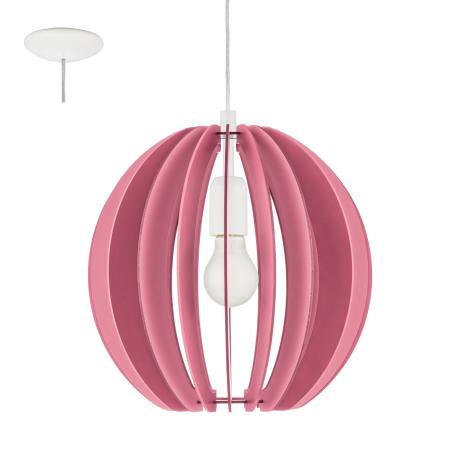 Závěsné osvětlení růžové FABELLA 95953