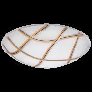 Stropní osvětlení kruhové nízké MARGITTA 1 96122
