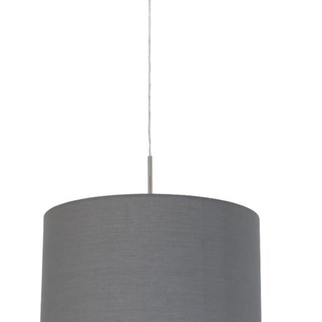 Závěsný lustr s textilním stínítkem PASTERI 96367