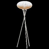 Stojací lampa s dřevěným stínítkem SOTOS 96966