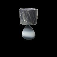 Stolní lampička s textilním stínítkem BONILLA 97091