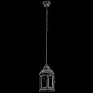 Závěsná lucerna na žárovku REDFORD 1 49225