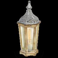 Lucerna dřevěná na žárovku KINGHORN 49277
