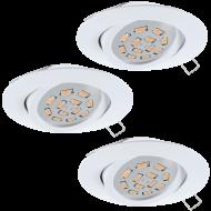 Podhledová bodové svítidlo bílé TEDO 31683