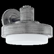 Venkovní nástěnné světlo, stříbrné TOLLERA 96234