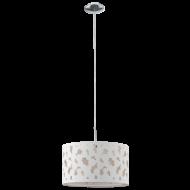Závěsné osvětlení s textilním stínítkem SESSA