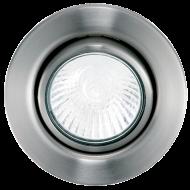 Podhledové bodové svítidlo v niklovém zbarvením EINBAUSPOTGU10
