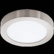 LED stropní osvětlení nízké kruh FUEVA 1 94527