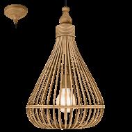 Rustikální závěsný lustr AMSFIELD 49772