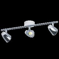LED svítidlo se třemi stínítky MONCALVIO 1 96836