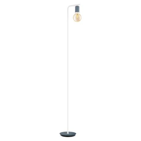 Stojací lampa, tmavě modrá pastelová barva ADRI-P 49124