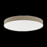 Stmívatelné stropní LED osvětlení s průměrem 98 cm, hnědošedé ROMAO 3 97787
